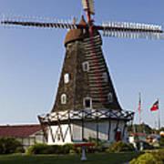 Windmill Danish Style 1 A Art Print