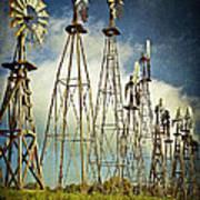 Windmills Of My Mind Art Print