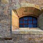 Window Detail At Carmel Art Print