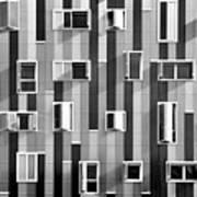 Window Facade Art Print by Gabriel Sanz (Glitch)