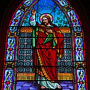 Window In Trinity Church Iv Art Print