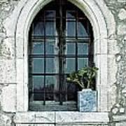 Window Of A Chapel Art Print