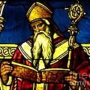 Window Of Saint Agustine Art Print