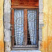 Window Provence France Art Print