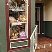 Window Shop Detail Art Print