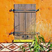 Window To Africa Art Print