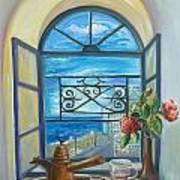 window to Jaffa Art Print