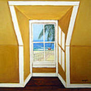 Window To The Sea No. 3 Art Print