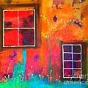Window Watching  Outside Looking In Art Print
