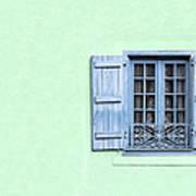 Window With Copy Space Art Print