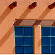 Windows Blue Art Print