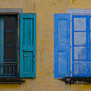 Windows Art Print by Debra and Dave Vanderlaan