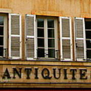 Windows Of Antiquites Art Print