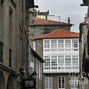 Windows Of Galicia Art Print