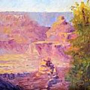 Windy Day In The Canyon Art Print