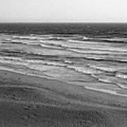 Windy Surf Art Print