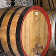 Wine Aging Art Print