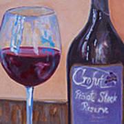 Wine And Chocolate Art Print