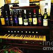 Wine And Song  Art Print