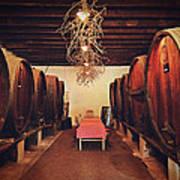 Wine Cellar Art Print by Benjamin Matthijs