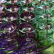 Wine Goblets Art Print