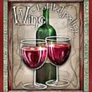 Wine Poetry Art Print