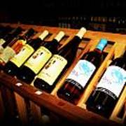 Wine Rack Art Print
