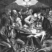 Wine Tasting, 1876 Art Print by Granger