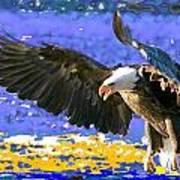Wings On High Art Print