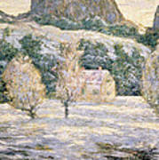 Winter Art Print by Ernest Lawson