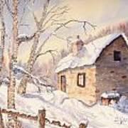 Winter Escape Art Print
