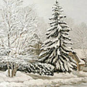 Winter Fairytale Art Print