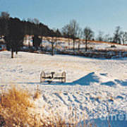 Winter In Granville Tennessee Art Print