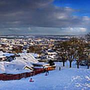 Winter In Inverness Art Print