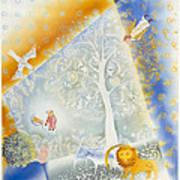 Winter In Paradise Art Print