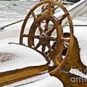 Winter On Board Art Print