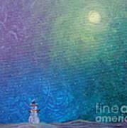 Winter Solitude 1 Art Print