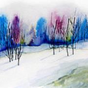 Winter Sorbet Art Print
