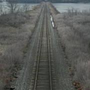 Winter Tracks  Art Print