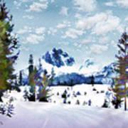 Winter Wonderland Art Print by Suni Roveto