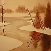 Winterbend Art Print