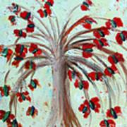 Winterblooms Print by Ayasha Loya