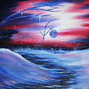 Winter's Frost Art Print by Shadrach Ensor