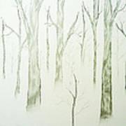Winters Grip Art Print