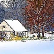 Winther In The Wood Art Print