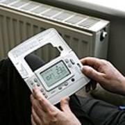 Wireless Thermostat Art Print