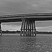 Wolf River Bridge Art Print