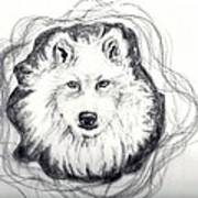 Wolf Totem Art Print