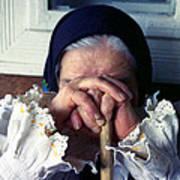Woman From Maramures Romania Art Print