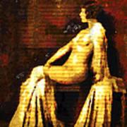 Woman Of The Night Art Print